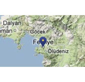 Byen Fethiye og dykkerstederne Afkule 1-2
