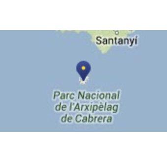 Naturbevaringsområdet på øen Cabrera