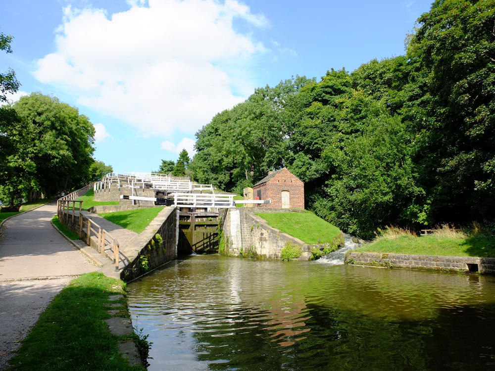 The Bingley Five-Rise Locks