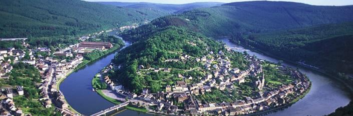 Flodsløjfe i Ardennerne