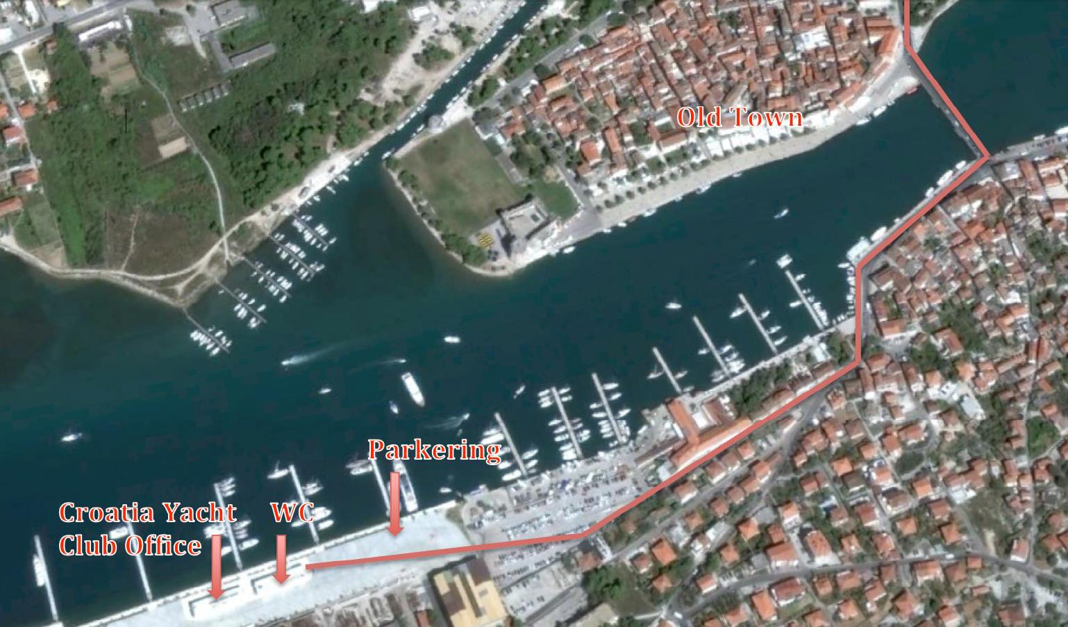 Trogir SCT (Dream Yacht Charter)