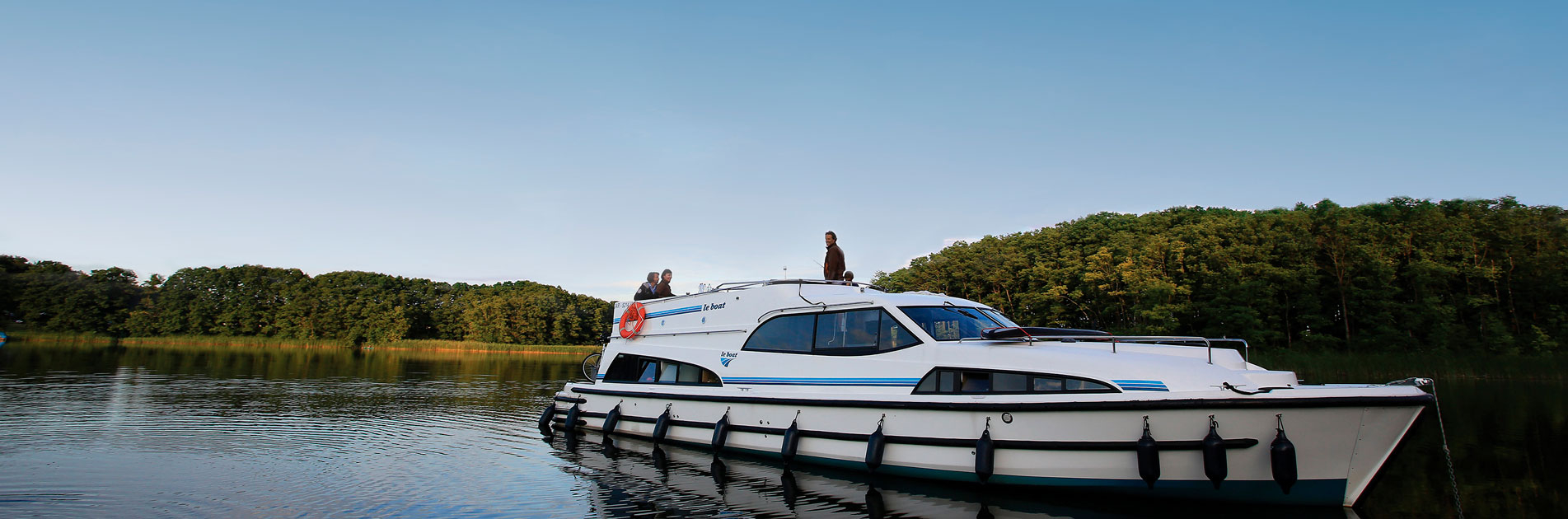 Flodbåd i Brandenburg