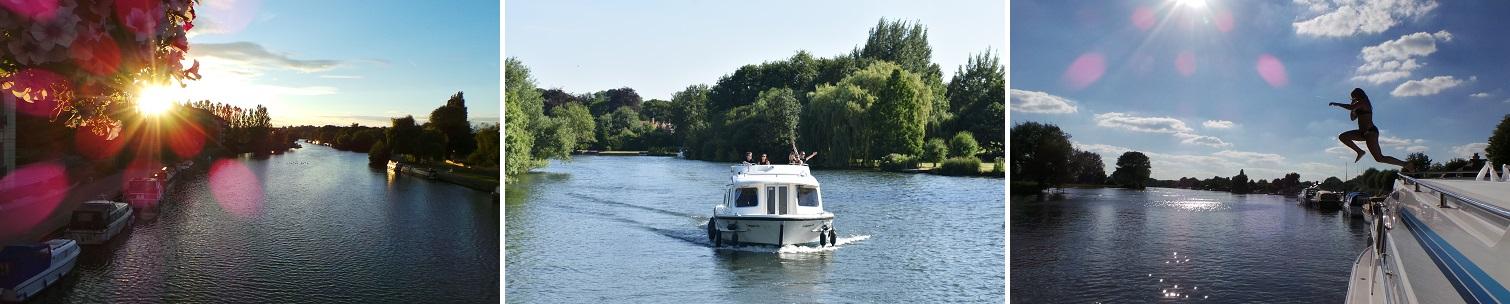 Flodbådsferie i England