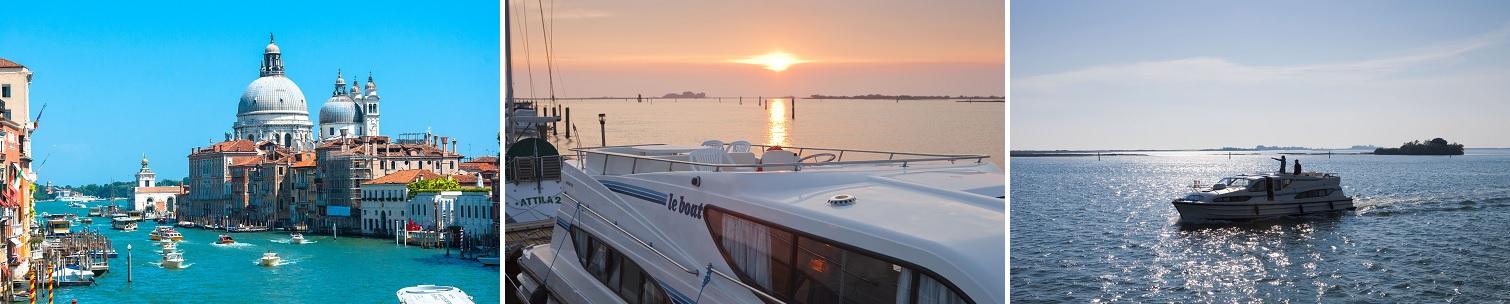 Flodbåde i Venedig