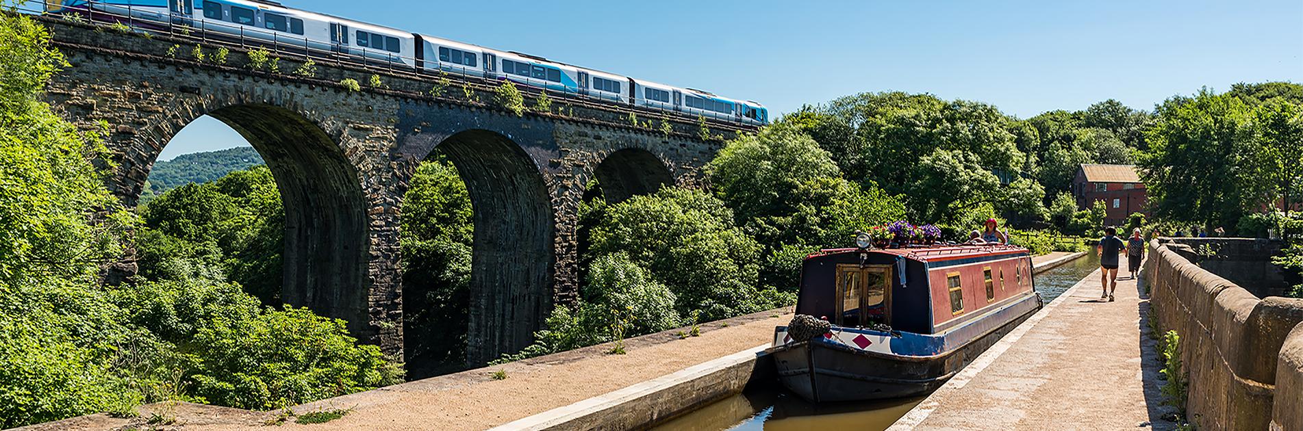 Kanal-akvædukt i England