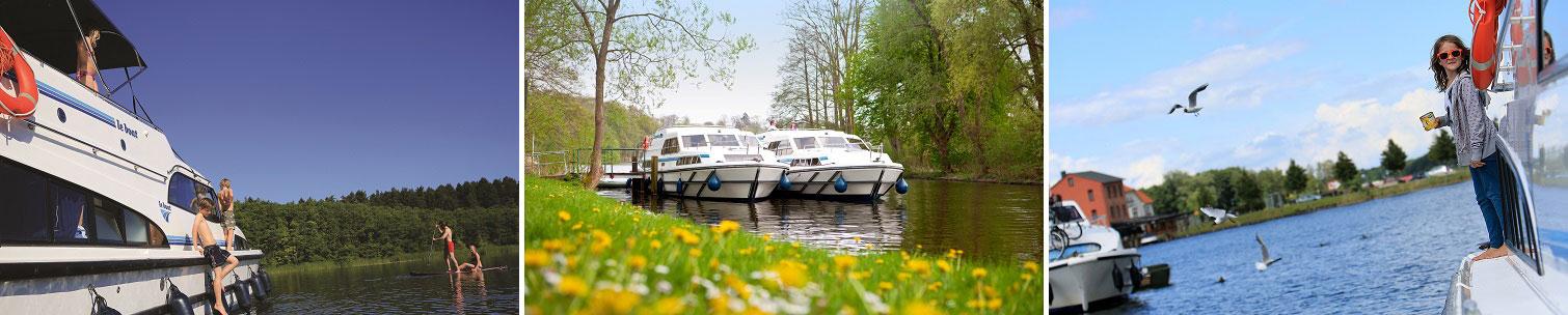 Flodbåde i Tyskland