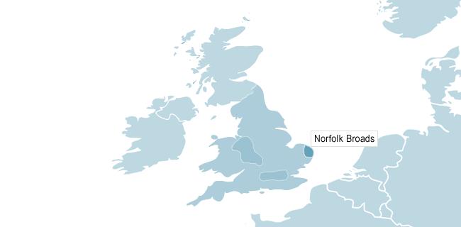 Kort over Cambridge