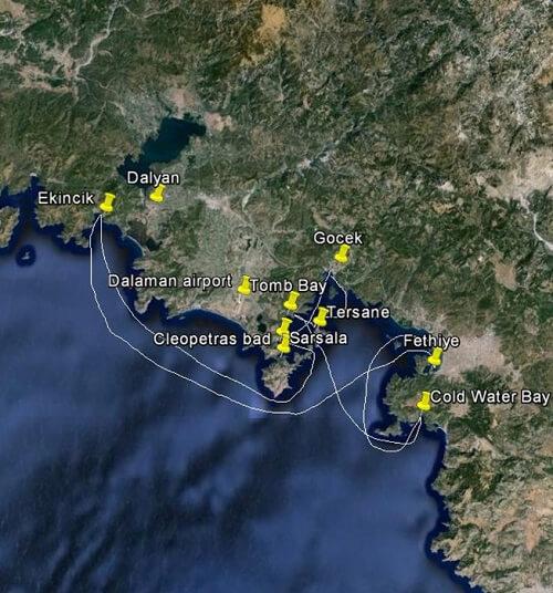 sejlrute-flotille-tyrkiet