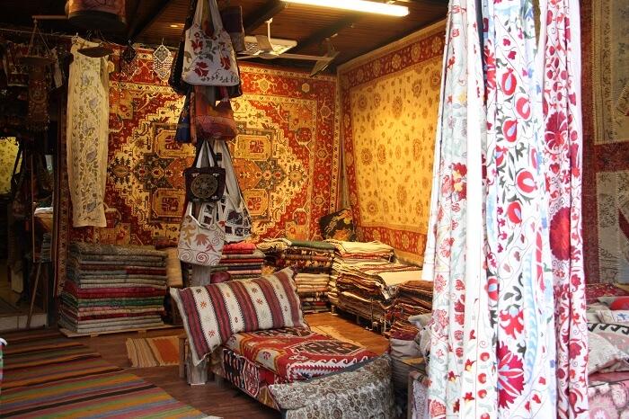 tæppemarked i fethiye