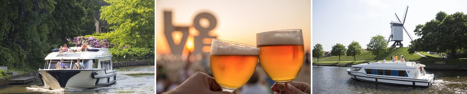 Flodbåde og øl i Belgien
