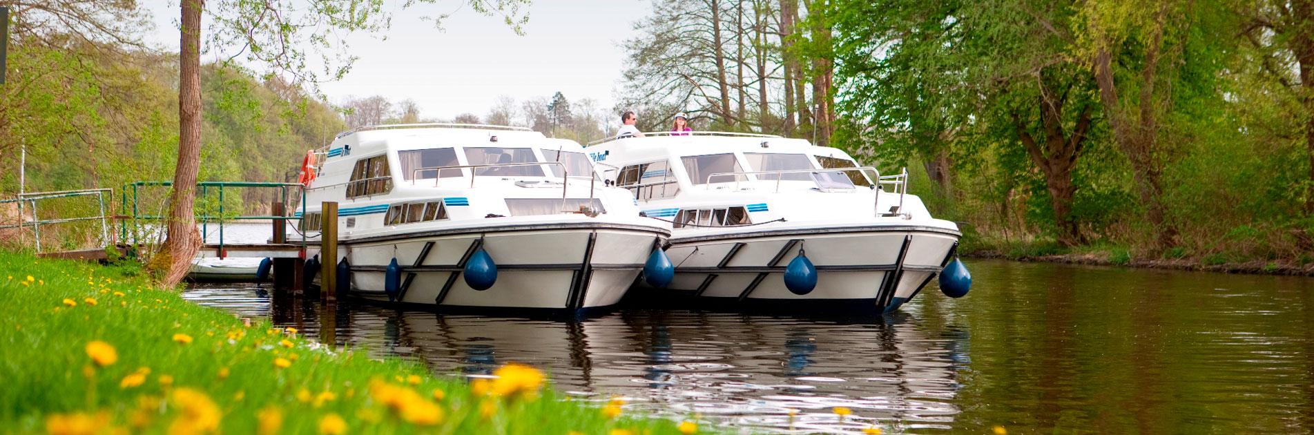 Flodbåde i Mecklenburg